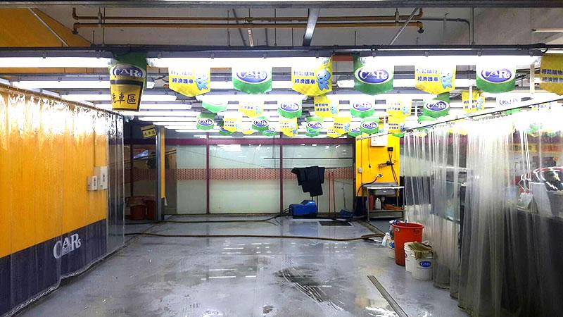 汽車美容店LED照明工程