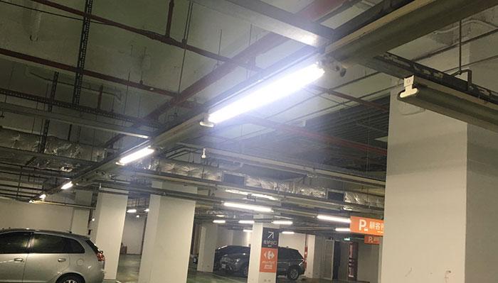 停車場LED照明改善工程