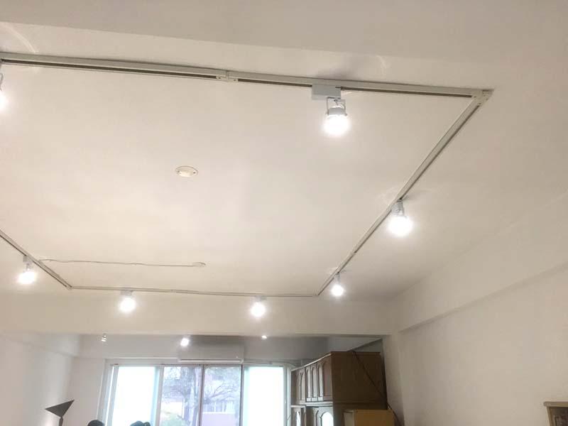 LED軌道燈具安裝工程