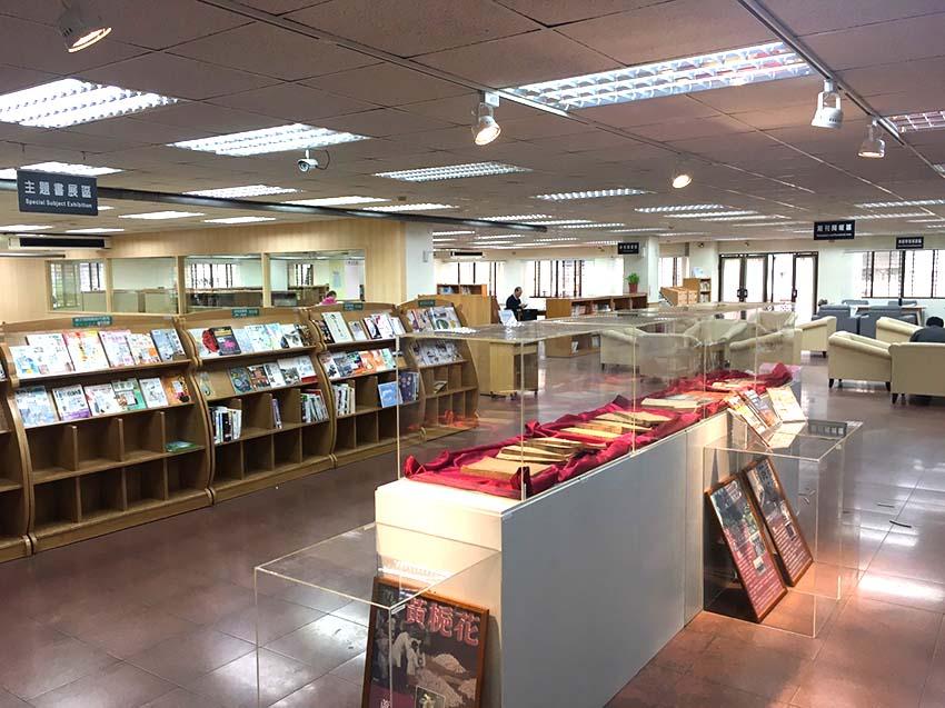 圖書館LED軌道燈安裝工程