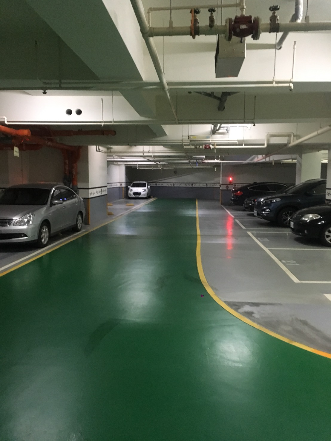 停車場LED感應式燈管
