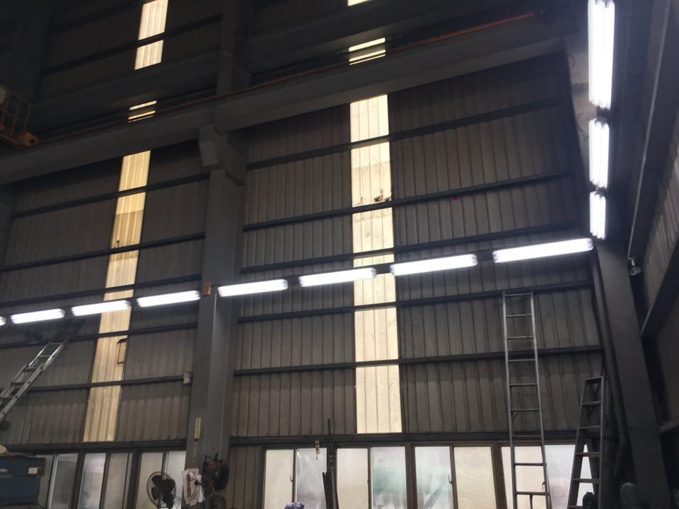 工廠LED T8 4呎雙管工事燈