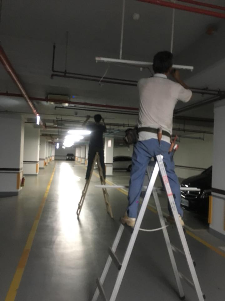 社區節能規劃T5 led燈管工程