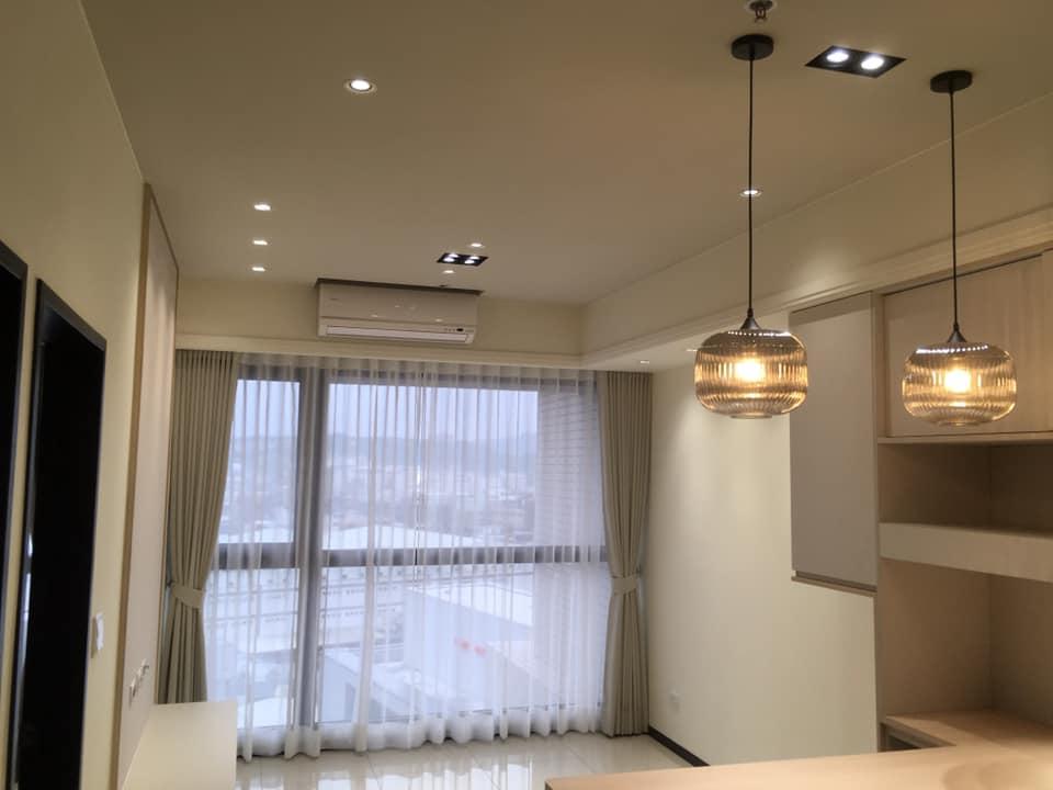 室內裝修採用飛利浦LED崁燈