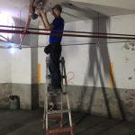 停車場LED照明更換工程
