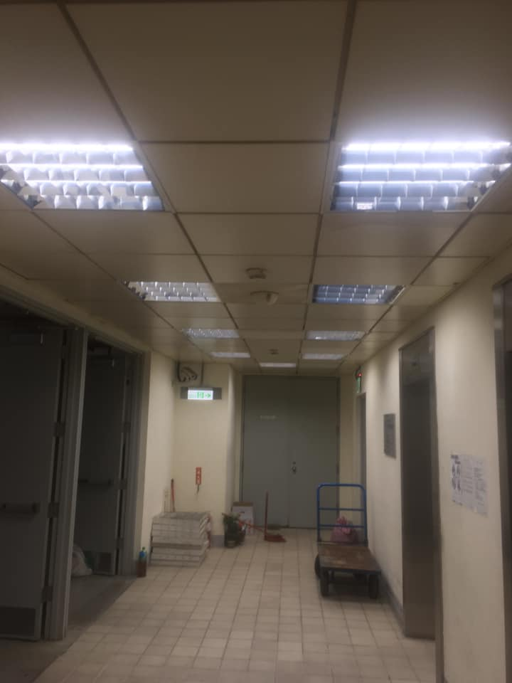 市場更換Led節標燈具工程