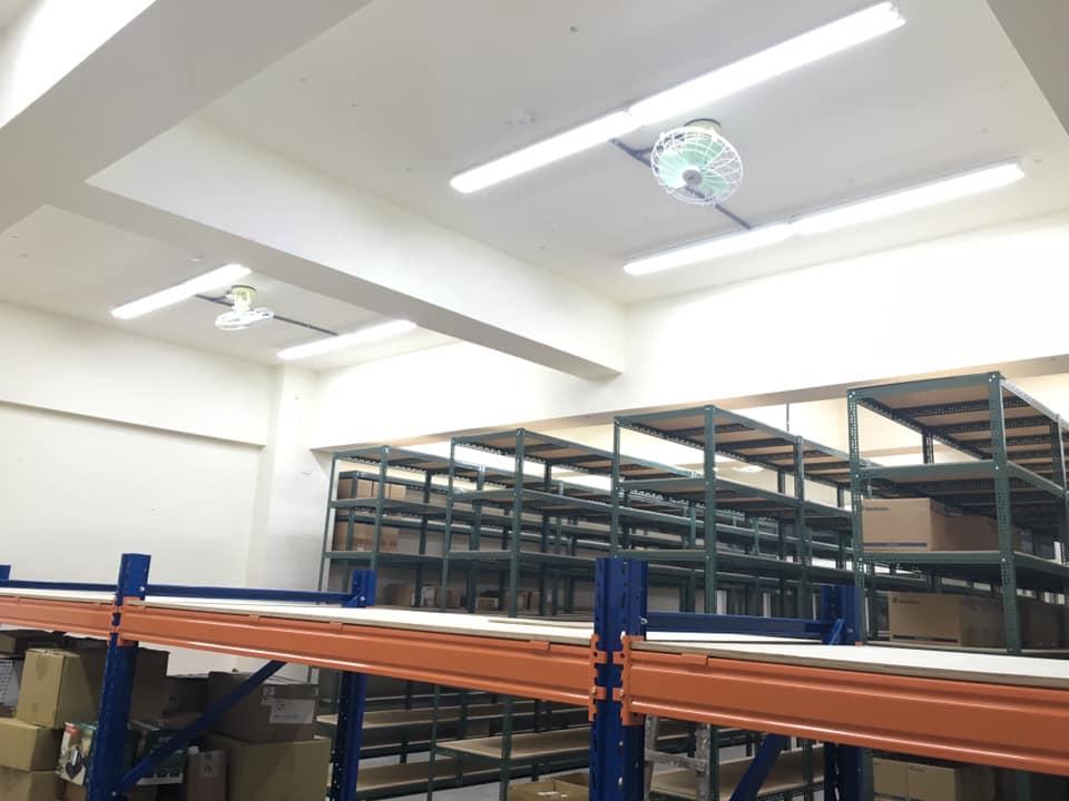 山型雙管燈